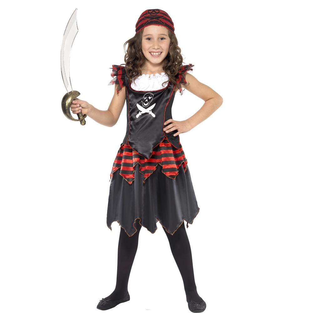 Disfraz Vestido Pirata Infantil