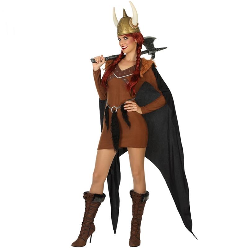 Disfraz Vikinga Mujer