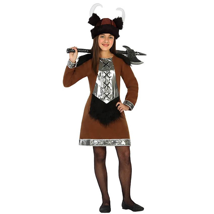 Disfraz Guerrera Vikinga Infantil
