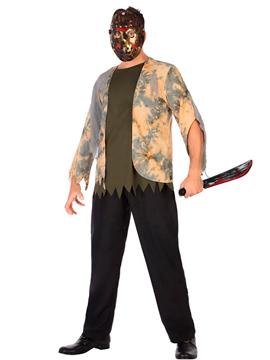 Disfraz asesino del lago Adulto