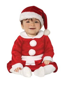 Disfraz de Mamá Noel Bebé
