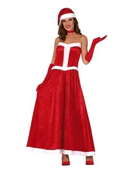 Disfraz Mamá Noel Vestido Largo
