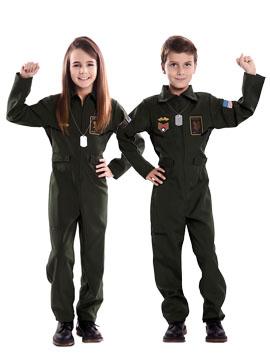 Disfraz Piloto Aviador Infantil
