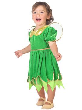Disfraz Hada Verde Bebé