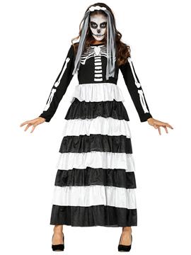 Disfraz Novia Esqueleto Adulto