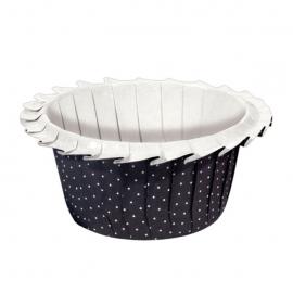 Cápsulas para Muffins Black Polka Dot