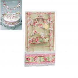 Kit para decorar Tartas Paisley Rose