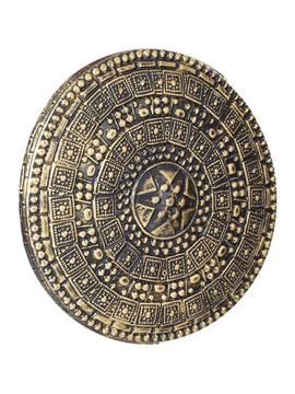 Escudo de romano dorado