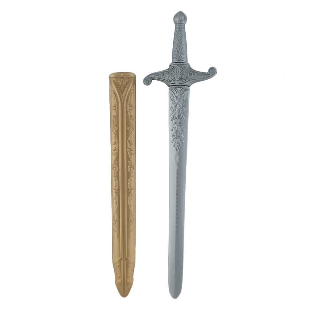 Espada con Funda Dorada