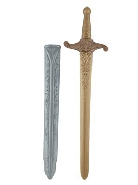 Espada con Funda Plateada