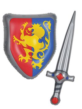 Set Escudo y Espada Inflable