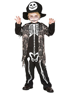 Disfraz Esqueleto Malvado Infantil