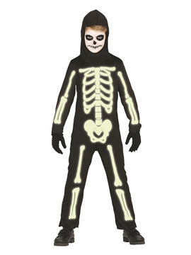 Disfraz Esqueleto Glow in the Dark Infantil