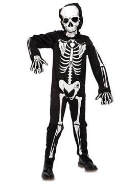 Disfraz Niño Esqueleto con Capucha Infantil
