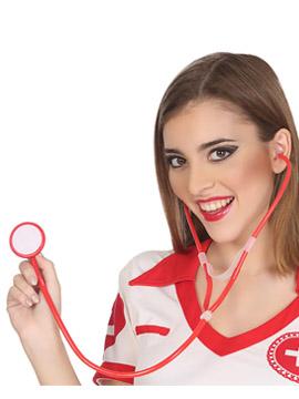 Estetoscopio Rojo