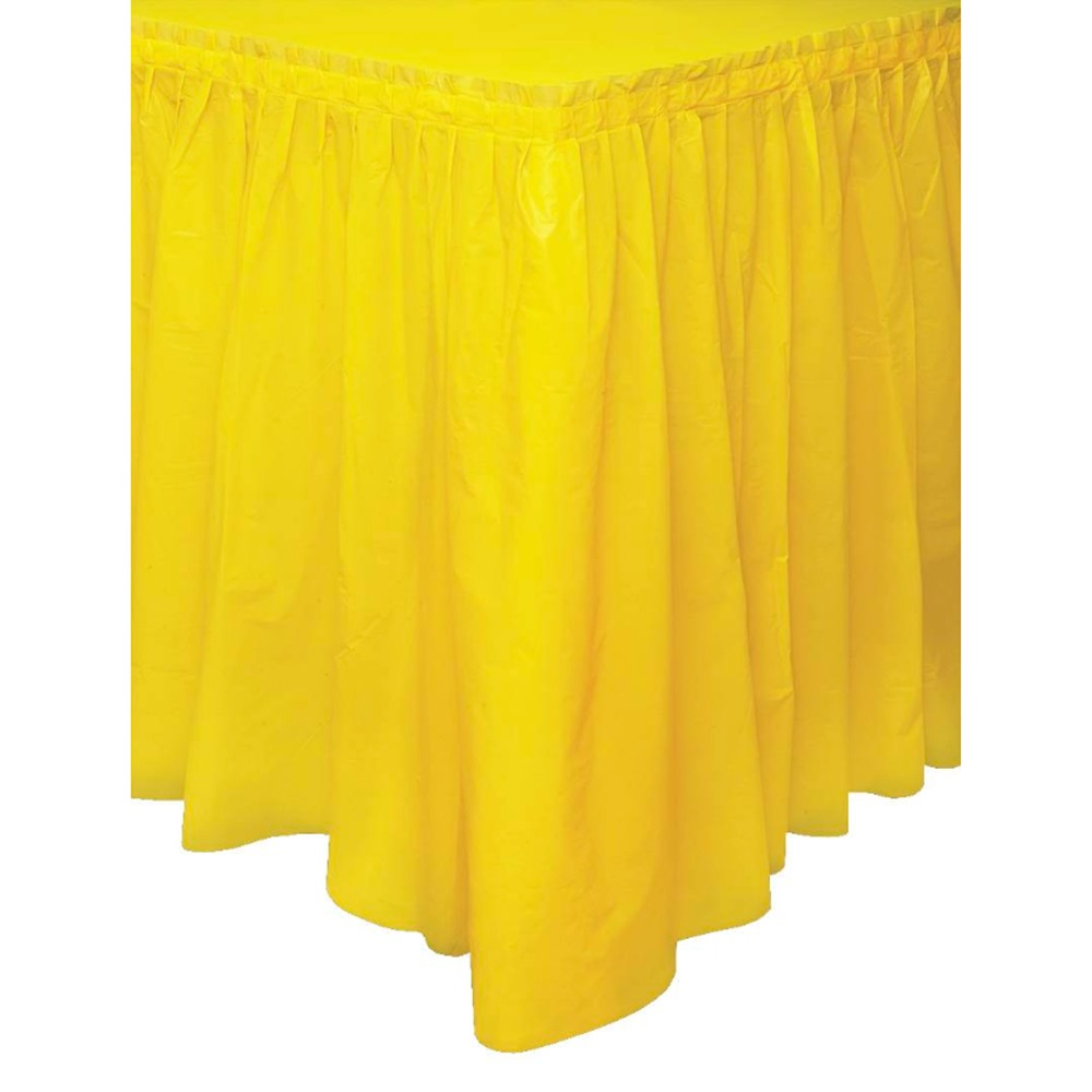 Falda para Mesa Amarillo Girasol