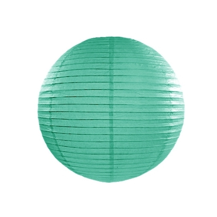 Farolillo de Papel Color Turquesa 20cm