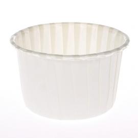 Cápsulas para cupcakes Blanco Marfil