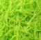 Fideos de oblea verdes