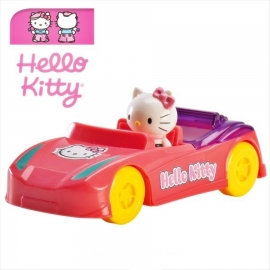 Figura decorativa Coche Hello Kitty 11cm
