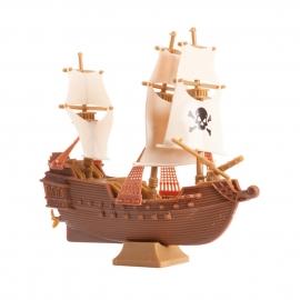Figura para Tarta Barco Pirata 12 cm