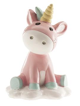 Figura para Tartas Bautizo Unicornio