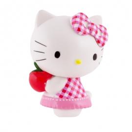 Figura para tartas Hello Kitty con manzana - Miles de Fiestas