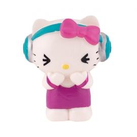Figura para Tartas Hello Kitty Escuchando Música - Miles de Fiestas