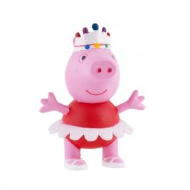 Figura para tartas Peppa Pig bailarina - Miles de Fiestas