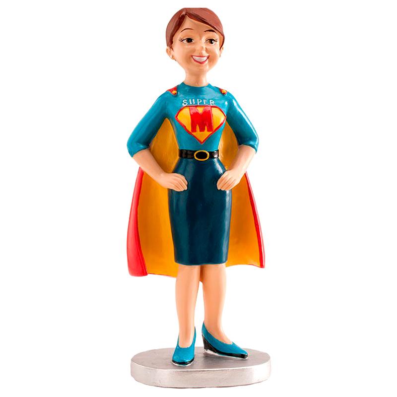 Figura para Tartas Supermamá