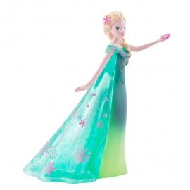 Figura para tartas vestido verde Elsa