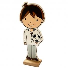 Figura Decorativa Niño Comunión Modelo A 18 cm
