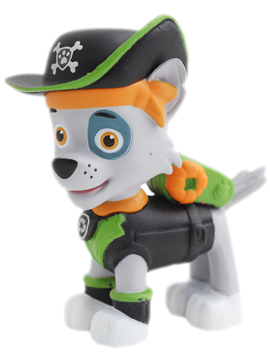 Figura para tarta Patrulla Canina Rocky - Miles de Fiestas