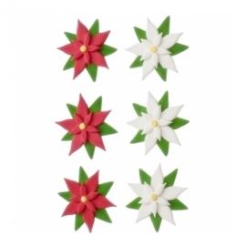 Figuras de azúcar flor de pascua