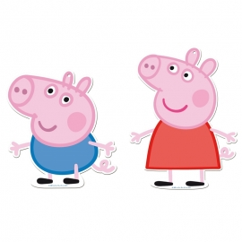 Figuras Decorativas Peppa Pig y George