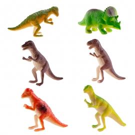 Figuras para Tartas de Dinosaurios 12 Unidades
