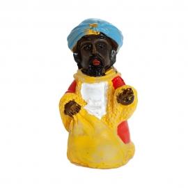 Figurita Roscón de Reyes Rey Baltasar Lujo