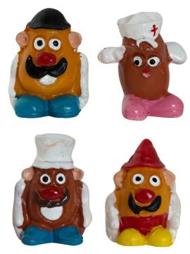 Figuritas Roscón de Reyes Sr y Sra Patata