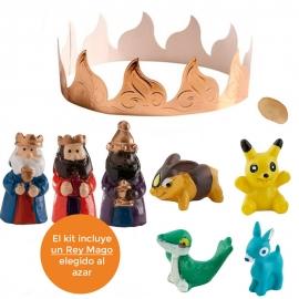 Figuritas Roscón de Reyes Serie Anime 8 piezas