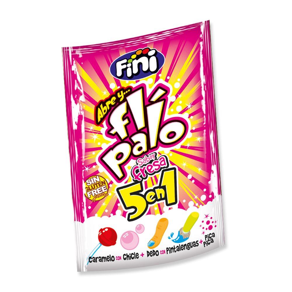 Flipalo 5 en 1 sabor Fresa 40 ud