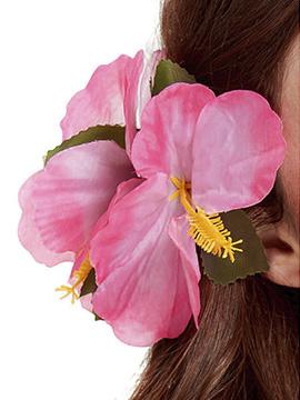 Clip para el Pelo Hibiscus Rosa