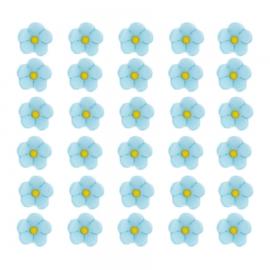 Flores de azúcar Azules pequeñas