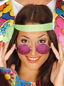 Gafas Hippie Moradas