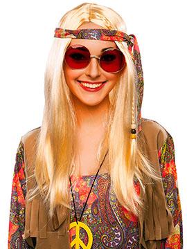 Gafas Hippie Roja