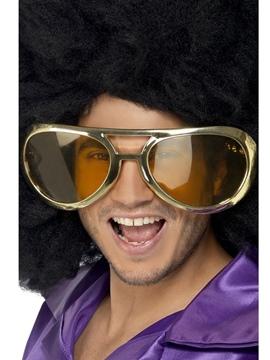 Gafas Gigantes Doradas