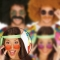 Gafas Hippie Rojas