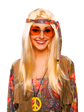 Gafas Hippie Naranja