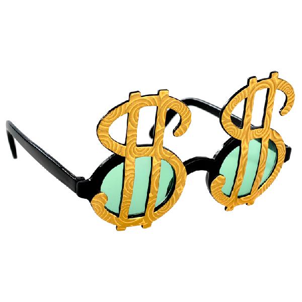Gafas Símbolo Dólar