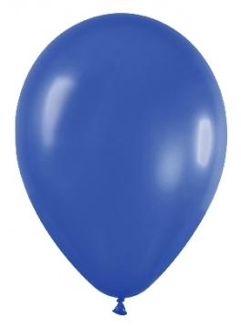 Pack de 10 globos azul metalizado