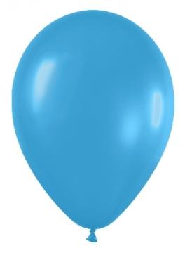 Pack de 12 Globos Azul Neon 30 cm